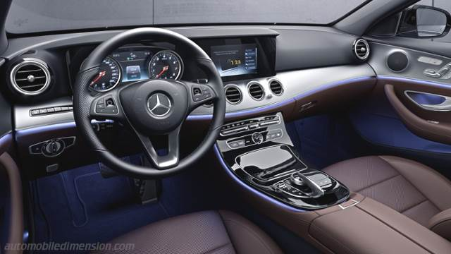 Mercedes-Benz E 2016 dashboard