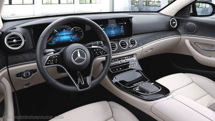 Mercedes-Benz E 2020 dashboard