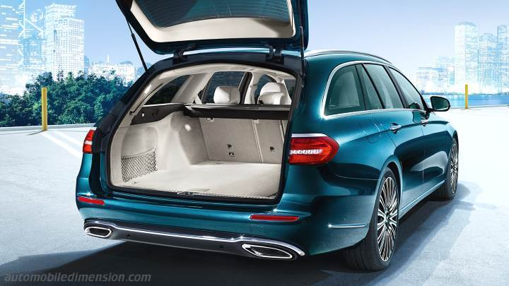 Mercedes-Benz E Estate 2016 kofferbak