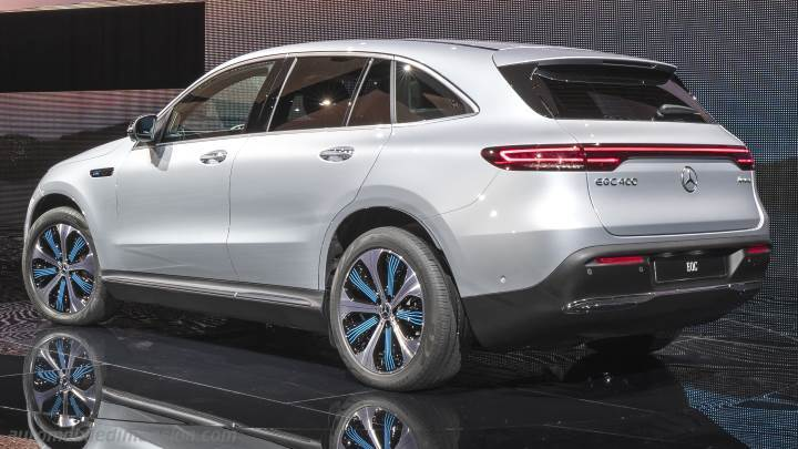 Mercedes-Benz EQC 2019 kofferbak