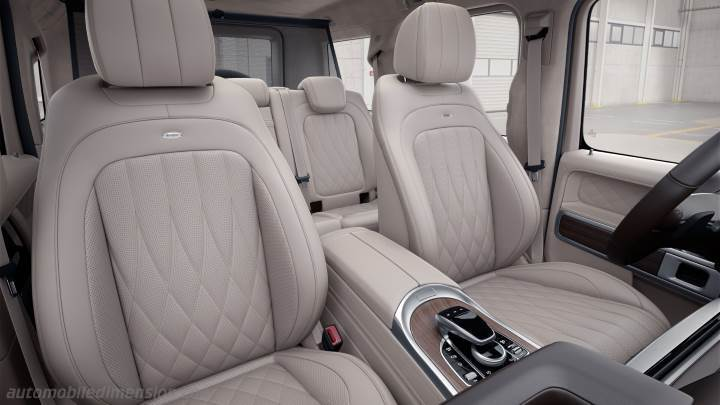 Mercedes-Benz G 2018 interieur