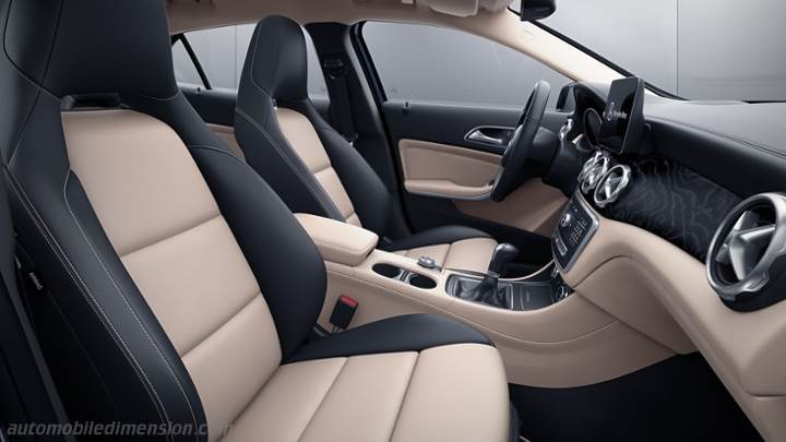 Mercedes-Benz GLA 2017 interieur