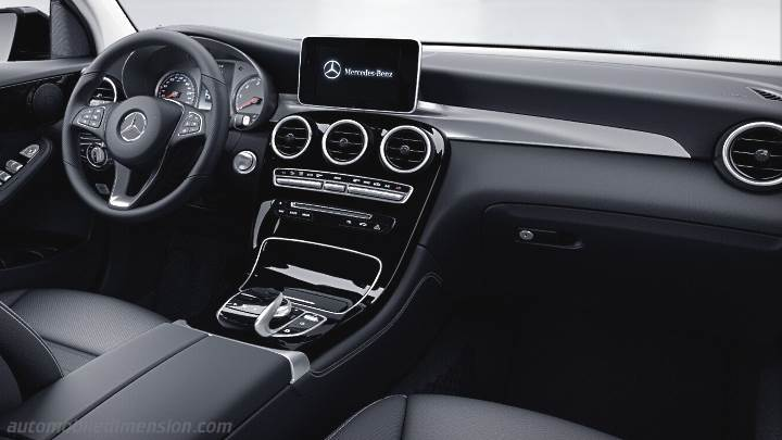 Mercedes Benz Glc Suv 2015 Dimensions Boot Space And Interior