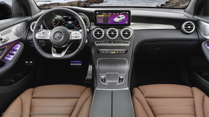 Mercedes-Benz GLC SUV dimensions and boot space -