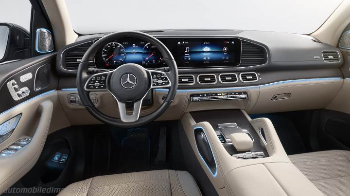 Mercedes-Benz GLS 2020 Armaturenbrett