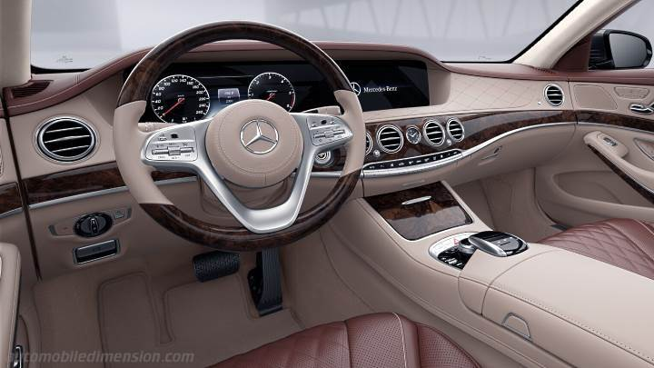 Dimensioni mercedes benz s 2017 bagagliaio e interni for Interieur e klasse 2017