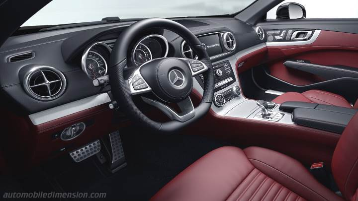 Mercedes-Benz SL 2016 Armaturenbrett