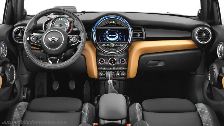 MINI 5-door 2015 dashboard