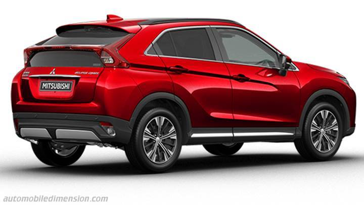 Mitsubishi Eclipse Cross 2018 Kofferraum