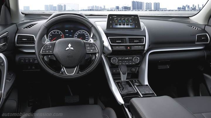 Mitsubishi Eclipse Cross 2018 dashboard