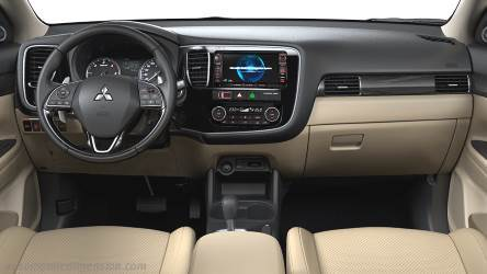 Mitsubishi Outlander 2016 dashboard