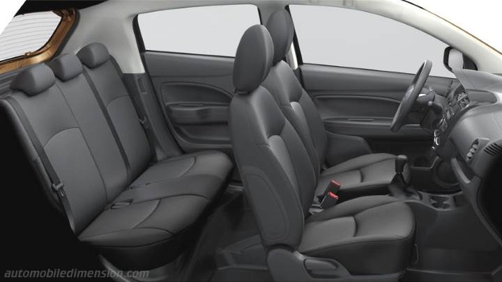 Mitsubishi Space Star 2016 interieur