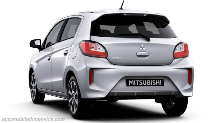 Coffre Mitsubishi Space Star 2020