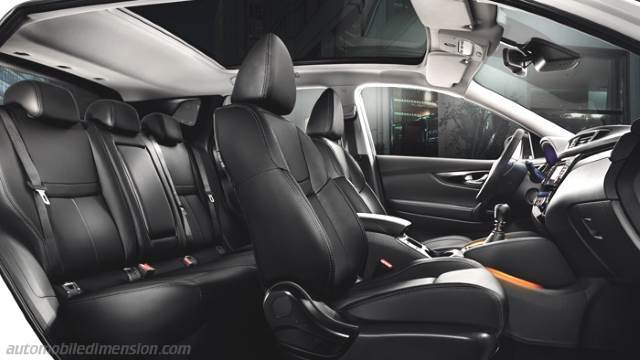 nissan qashqai 2014 dimensions boot space and interior. Black Bedroom Furniture Sets. Home Design Ideas
