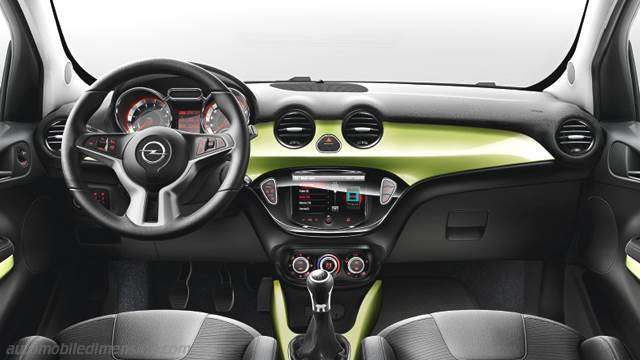 Opel ADAM 2013 dashboard