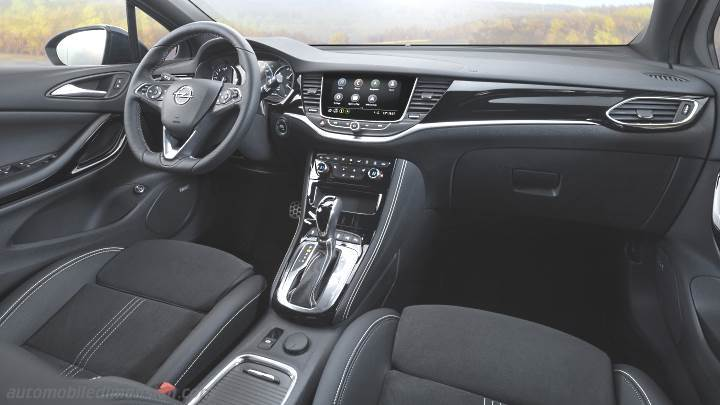 Opel Astra 2020 Dimensions Boot Space And Interior