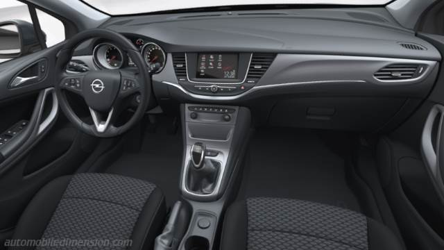 Opel Astra Sports Tourer 2017 Dashboard Zoom