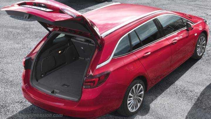 Coffre Opel Astra Sports Tourer 2020