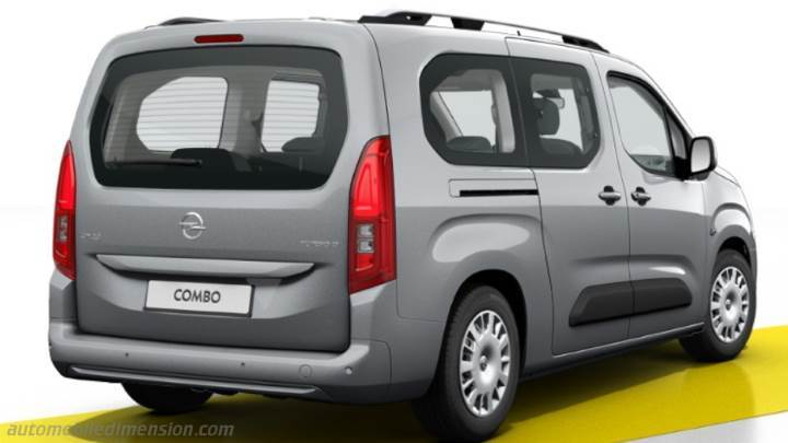 Opel Combo Life L2 2018 bagageutrymme