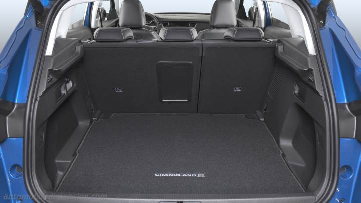 opel grandland x 2018 dimensions boot space and interior. Black Bedroom Furniture Sets. Home Design Ideas