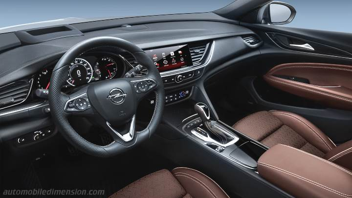 Opel Insignia Sports Tourer 2017 dimensions, boot space ...