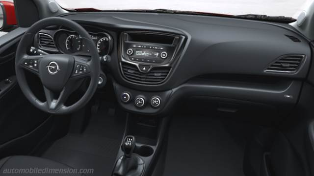 Opel Karl 2015 Dimensions Boot Space And Interior
