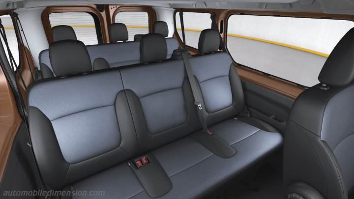 opel vivaro combi 2015 dimensions boot space and interior. Black Bedroom Furniture Sets. Home Design Ideas