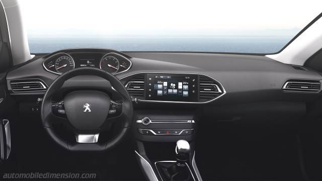 peugeot 308 sw 2014 dimensions boot space and interior. Black Bedroom Furniture Sets. Home Design Ideas