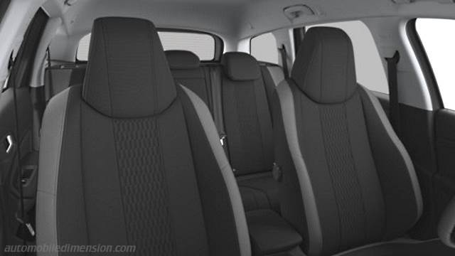 Peugeot 308 SW 2014 dimensions, boot space and interior