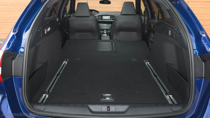 peugeot 308 sw 2017 dimensions boot space and interior. Black Bedroom Furniture Sets. Home Design Ideas