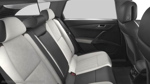 Dimensions peugeot 508 rxh 2015 coffre et int rieur for Interieur 508 rxh