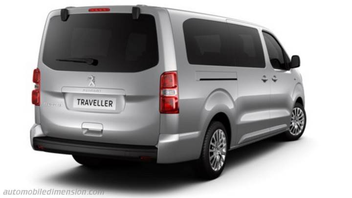 Peugeot Traveller Long 2016 kofferbak