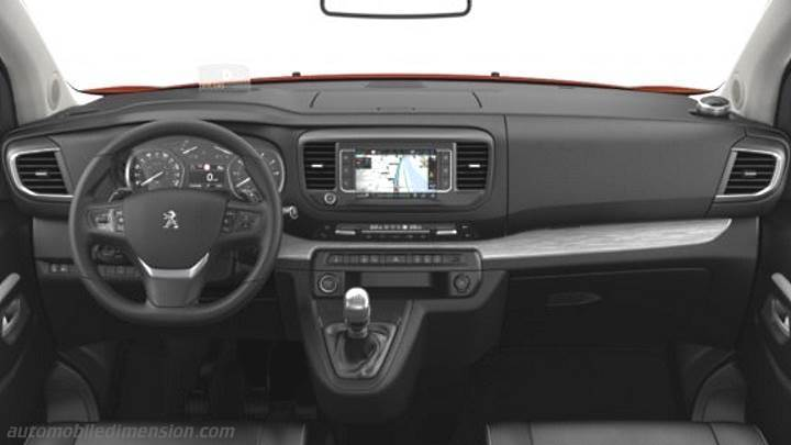 Peugeot Traveller Long 2016 dashboard