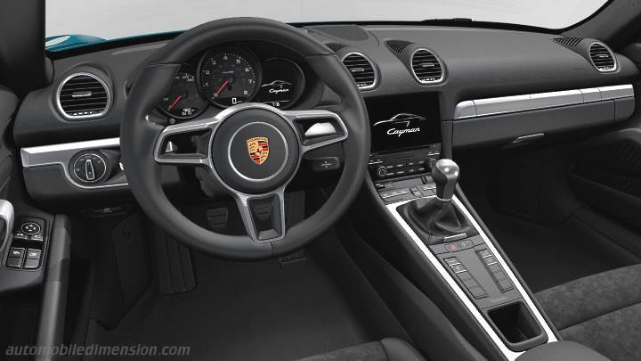 Porsche 718 Cayman 2016 Dimensions Boot Space And Interior