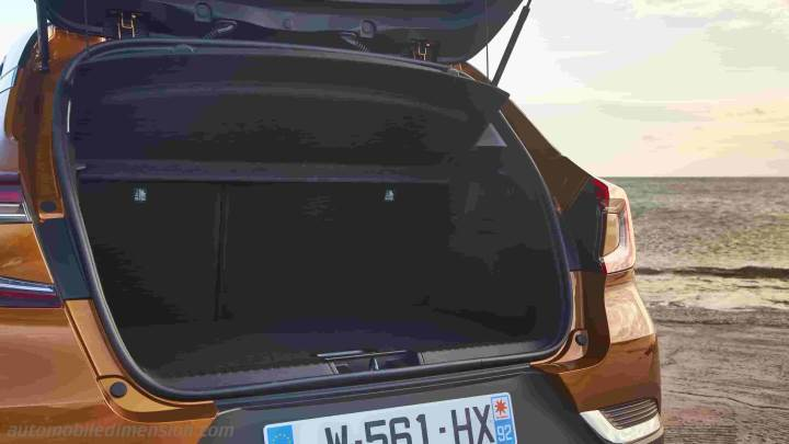 Renault Captur 2020 boot