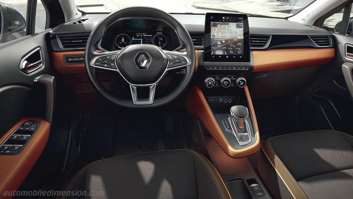 Renault Captur 2020 dashboard