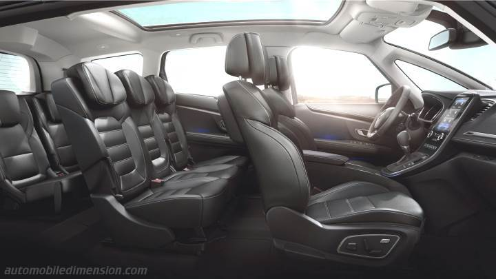 renault grand sc nic 2016 dimensions boot space and interior. Black Bedroom Furniture Sets. Home Design Ideas