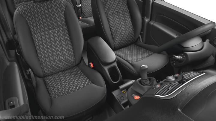 Dimensions renault kangoo 2013 coffre et int rieur for Interieur renault express