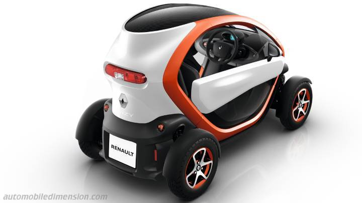 Renault Twizy Dimensions And Boot Space