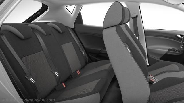 Seat Ibiza 5p 2015 dimensions boot space and interior