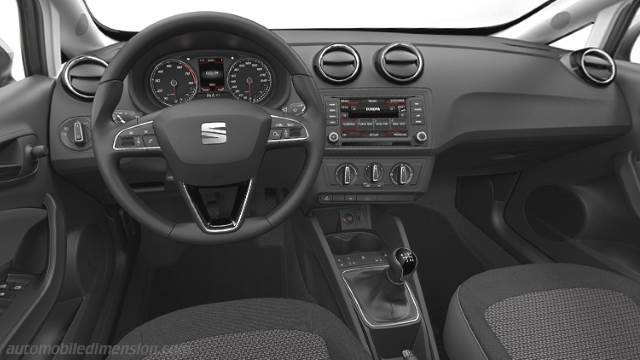 Seat ibiza st dimensions crafts for Interieur seat ibiza cupra