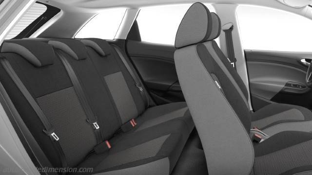 dimensions seat ibiza st 2015 coffre et int rieur. Black Bedroom Furniture Sets. Home Design Ideas