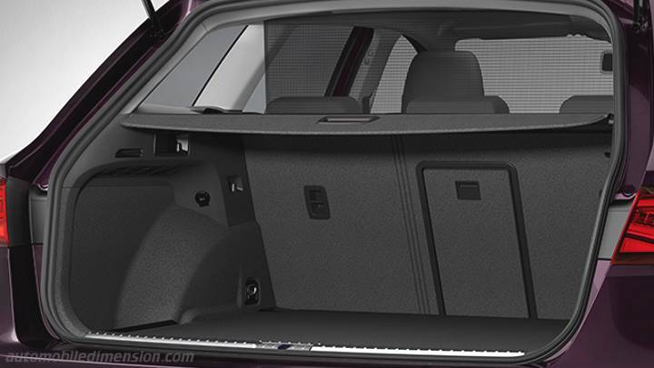 seat leon st 2017 dimensions boot space and interior. Black Bedroom Furniture Sets. Home Design Ideas