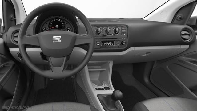 Seat Mii 2011 dashboard