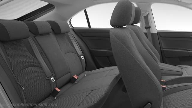 Seat Toledo 2012 dimensions, boot space and interior