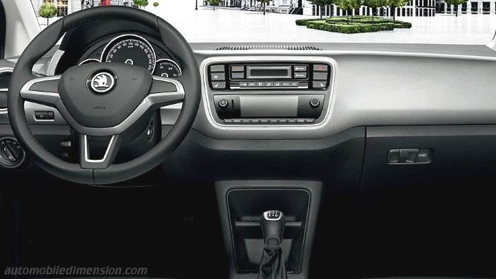 Skoda Citigo 2012 dashboard
