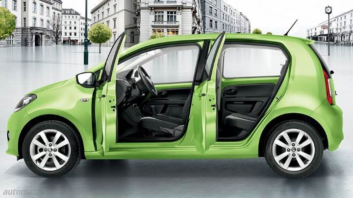 skoda citigo 2012 dimensions boot space and interior. Black Bedroom Furniture Sets. Home Design Ideas