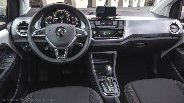 Skoda Citigo iV 2020 dashboard