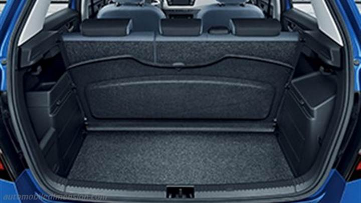 skoda fabia 2015 dimensions boot space and interior. Black Bedroom Furniture Sets. Home Design Ideas