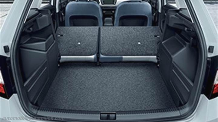 skoda fabia combi 2015 dimensions boot space and interior. Black Bedroom Furniture Sets. Home Design Ideas
